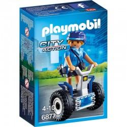 PLAYMOBIL 6877 City Action - POLICJANTKA NA BALANCE - RACER