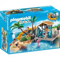PLAYMOBIL 6979 Family Fun - KARAIBSKA WYSPA Z BAREM NA PLAŻY
