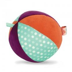 B.TOYS Pluszowa piłka sensoryczna z dzwoneczkiem BX1566