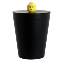 LEGO Pojemnik Kosz na Śmieci Czarny