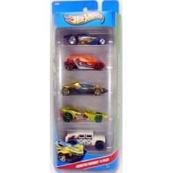 Mattel - X9860 - HW City - Monster Mission - Zestaw 5 samochodzików