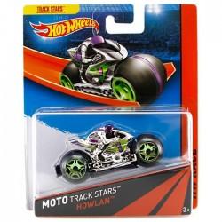 Mattel - BDN36 - HW Race - Moto Track Stars - Howlan - Srebrny