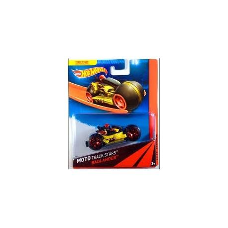 Mattel - BDN36 - HW Race - Moto Track Stars - Badlander - Żółty