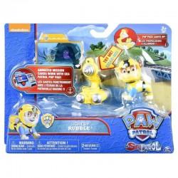 SPIN MASTER Psi Patrol Morski Figurka RUBBLE ze Światłem 6037879 8689