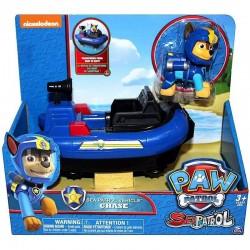 SPIN MASTER Psi Patrol Morski Pojazd z Figurką CHASE 6038284 5005