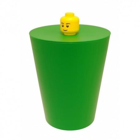 LEGO Pojemnik Kosz na Śmieci Zielony