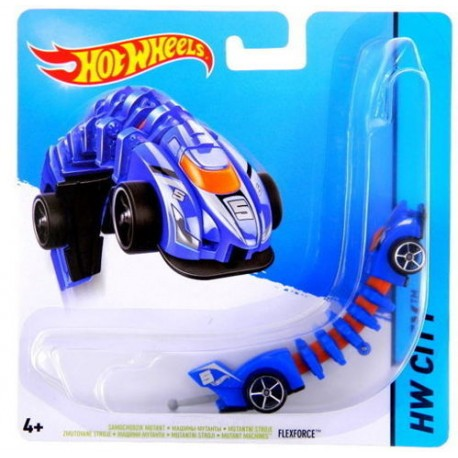 Mattel - BBY82 - HW City - Hot Wheels Mutant - Flexforce