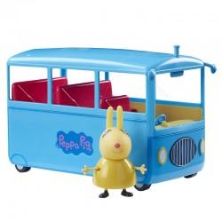 TM TOYS Świnka Peppa Szkolny Autobus Rebeki 65188