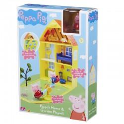 TM TOYS Świnka Peppa Domek z Ogrodem 61562
