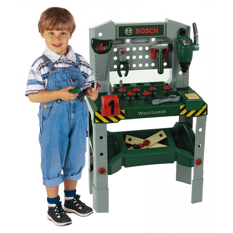 Klein - 8637 - Bosch Mini - Warsztat z Dźwiękami - Pan Zabawka