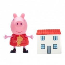 TM TOYS Świnka Peppa Figurka z Domkiem 63818