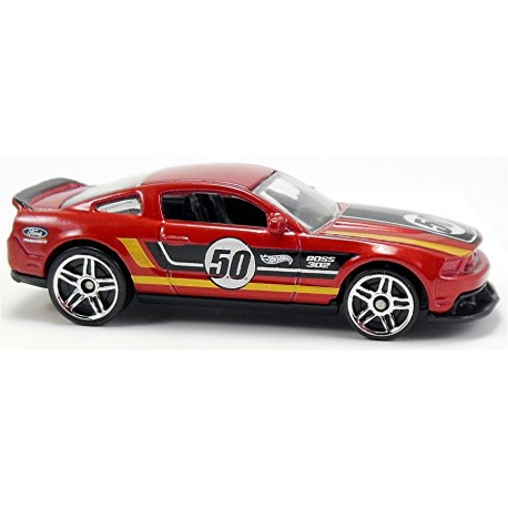 Mattel - BFD81 - Hot Wheels - HW City - '12 Ford Mustang Boss 302 Laguna Seca
