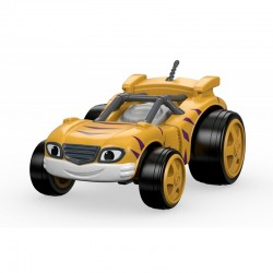 FISHER-PRICE Blaze i Mega Maszyny Samochodzik Die-Cast RACE CAR STRIPES DTK22 CGF20
