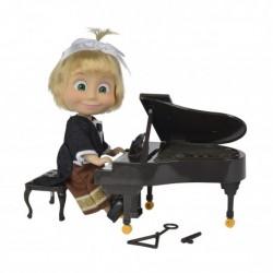MASZA I NIEDŹWIEDŹ Lalka Masza Pianistka Simba 1971