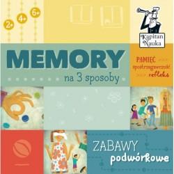KAPITAN NAUKA Gra Memory ZABAWY PODWÓRKOWE 6046150