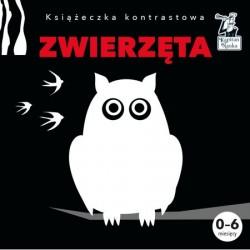 KAPITAN NAUKA Książeczka Kontrastowa ZWIERZĘTA 6170309