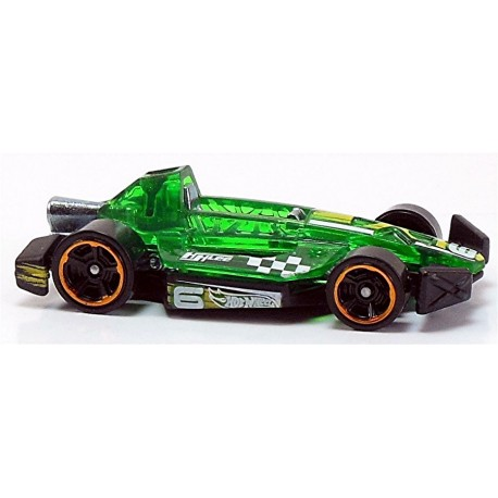 Mattel - BFD34 - Hot Wheels - HW Race - Arrow Dynamic - Zielony