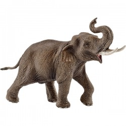 SCHLEICH 14754 - Figurki Dzikich Zwierząt - SŁOŃ AZJATYCKI