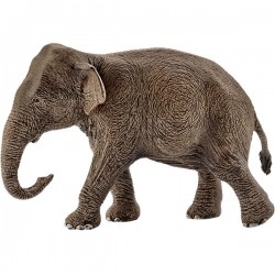 SCHLEICH 14753 - Figurki Dzikich Zwierząt - AZJATYCKA SŁONICA