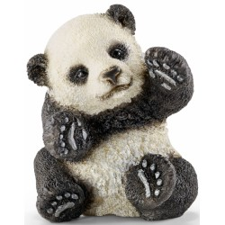 SCHLEICH 14734 - Figurki Dzikich Zwierząt - MAŁA BAWIĄCA SIĘ PANDA