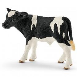 SCHLEICH 13798 - Figurki Zwierząt Wiejskich - CIELĘ RASY HOLSTEIN