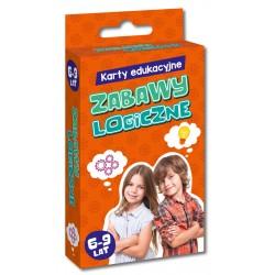 KAPITAN NAUKA Karty Edukacyjne Zabawy Logiczne 888070