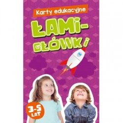 KAPITAN NAUKA Karty Edukacyjne Łamigłówki 888087