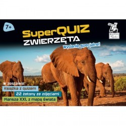 KAPITAN NAUKA Zestaw SuperQUIZ ZWIERZĘTA Wydanie Specjalne 6134738