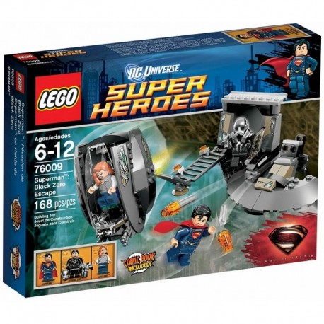 LEGO SUPER HEROES 76009 Superman Black Zero