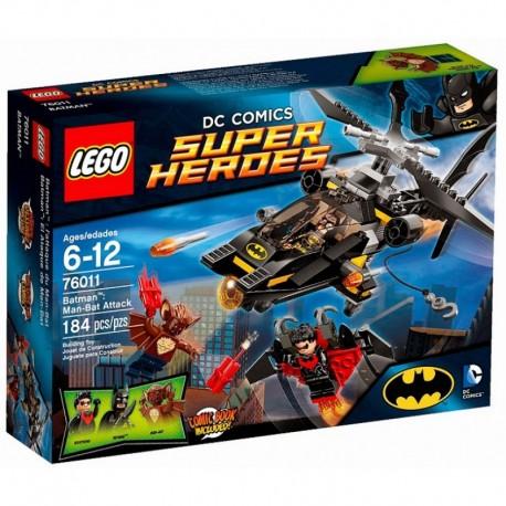 LEGO SUPER HEROES 76011 Atak Człowieka Nietoperza