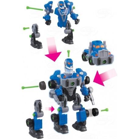 Dumel Discovery - DD43507 - Rozkręcony Robot - Niebieski