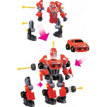 Dumel Discovery - DD43507 - Rozkręcony Robot - Czerwony