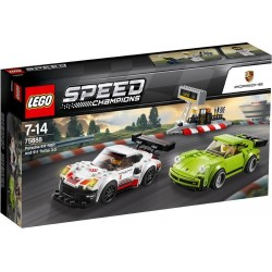 LEGO SPEED CHAMPIONS 75888 Porsche 911 RSR i Turbo 3.0