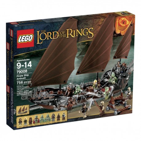 LEGO THE LORD OF THE RINGS 79008 Zasadzka na Statku Pirackim