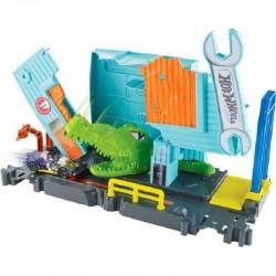 HOT WHEELS City Aligator w Warsztacie Mattel FNB05 FNB06