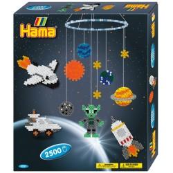 Hama - Midi - 3231 - Koraliki Kolorowe - Zestaw Kosmos-Planety 2500 szt.