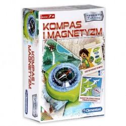 CLEMENTONI Naukowa Zabawa KOMPAS I MAGNETYZM 60050