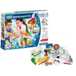 CLEMENTONI Naukowa Zabawa 100 EKSPERYMENTÓW 50522