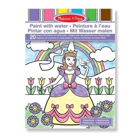 Melissa & Doug - 14166 - Kolorowanka na Wodę - Księżniczki