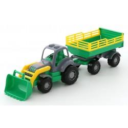 WADER POLESIE Traktor z Przyczepą OSIŁEK 04808
