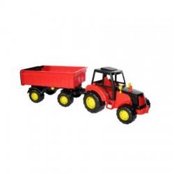 WADER POLESIE Traktor z Przyczepą MAJSTER 35257