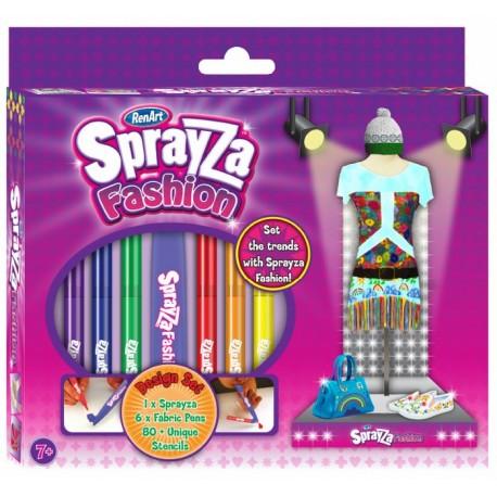 RentArt - 6011 - SprayZa - Fashion - 6 Flamastrów