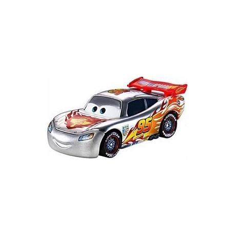 Mattel - BBN18 - Disney Pixar - Auta - Silver - Lightning McQueen - Zygzak McQueen