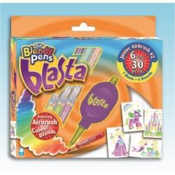 RenArt - 7015 - Flamastry - Blendy Pens - Blasta Box Zestaw 2