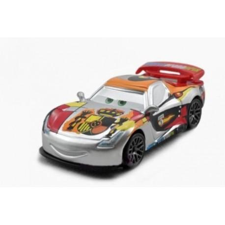 Mattel - BBN20 - Disney Pixar - Auta - Silver - Miguel Camino - Miguel Al Cantara