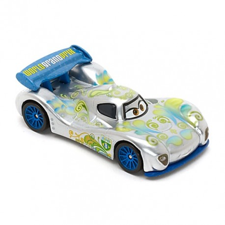 Mattel - BBT10 - Disney Pixar - Auta - Silver - Carla Veloso - Carla Turbina