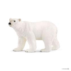 SCHLEICH 14800 - Figurki Dzikich Zwierząt - NIEDŹWIEDŹ POLARNY