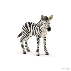 SCHLEICH 14811 - Figurki Dzikich Zwierząt - ZEBRA ŹREBIĘ