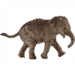 SCHLEICH 14755 - Figurki Dzikich Zwierząt - MŁODY SŁOŃ AZJATYCKI