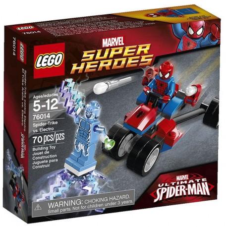 LEGO SUPER HEROES 76014 Trójkołowiec Pająka